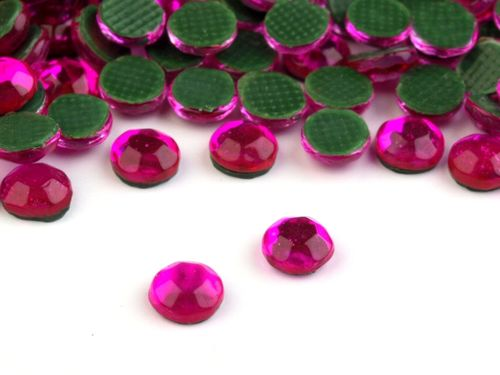 Hot-Fix Strass-Steine 3-4mm pink